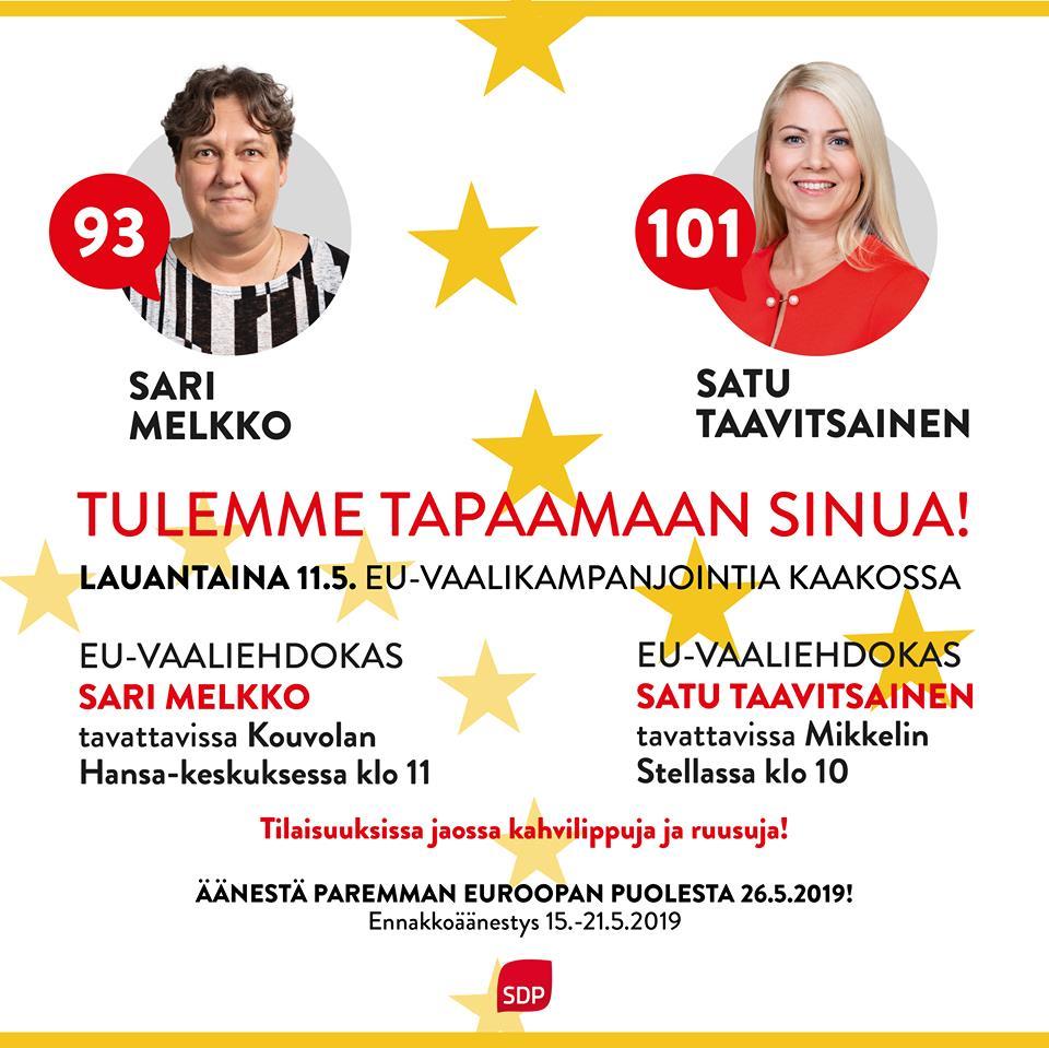 Suomen Eurovaaliehdokkaat 2021